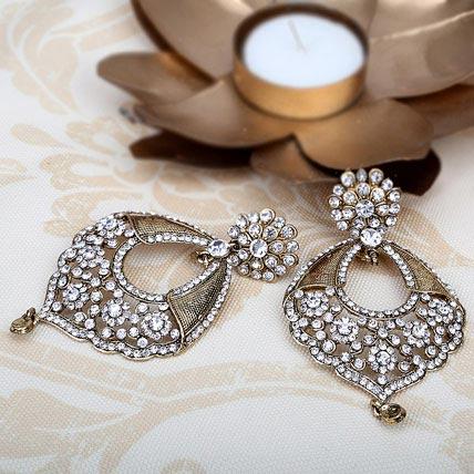 Elegant Stone Earrings