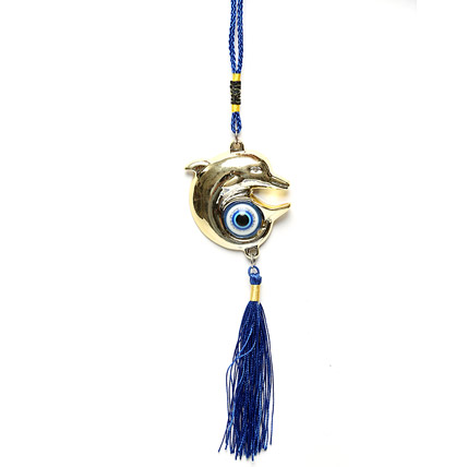 Evil Eye with Fish Hanging