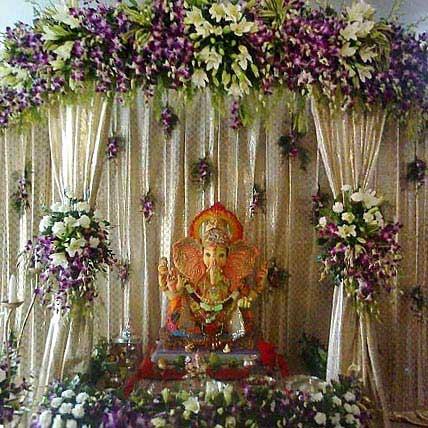 Exquisite Ganesh Chaturthi Decoration Gift Exquisite