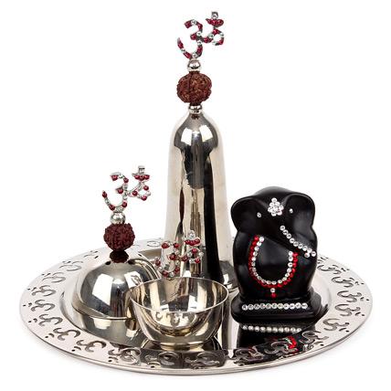 Exquisite Puja Thali