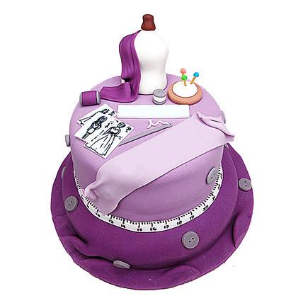 Fashion Designer Cake 4kg Eggless Chocolate