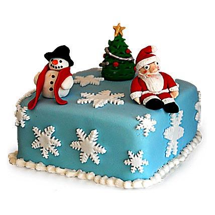 Festive Christmas Cake 4kg Eggless