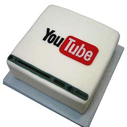 Flawless Youtube Cake 3kg