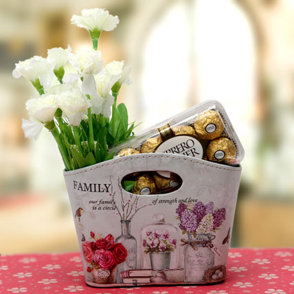 Floral Treat For Moms