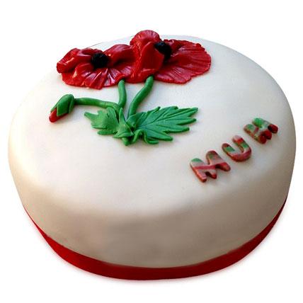 Flowering Love Mom Cake 4kg Eggless