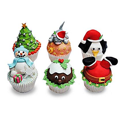 Funny Christmas Cupcakess 12