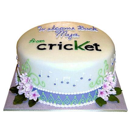 Game Of Cricket Cake 1kg Eggless