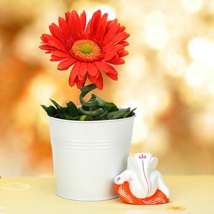 Ganesha and Plant