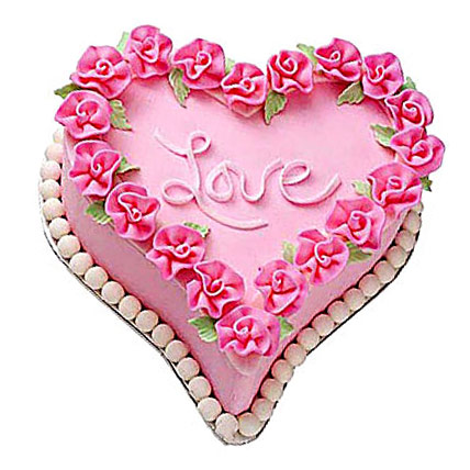 Gift A Heart Cake 4kg