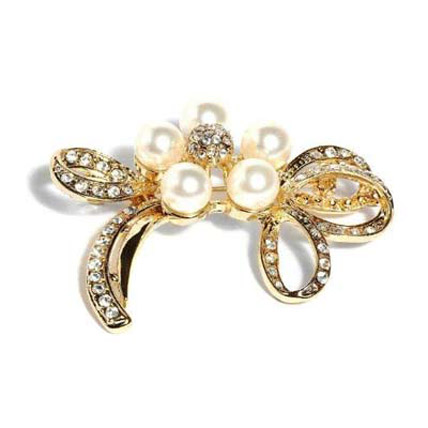 Gold Plated Brooch