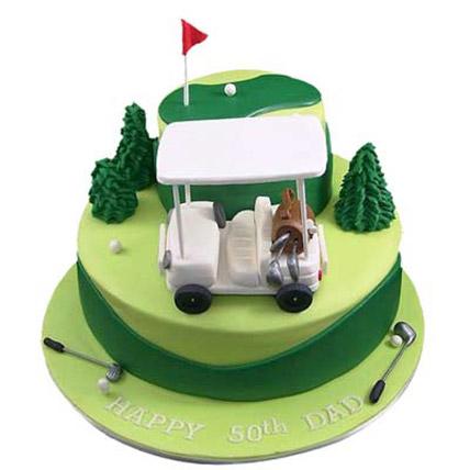 Golf Car Cake 3kg