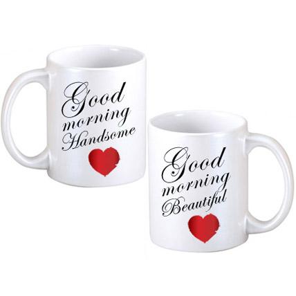 Good Morning Couple Mugs