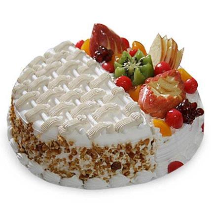 Half N Half Cake 2kg Eggless
