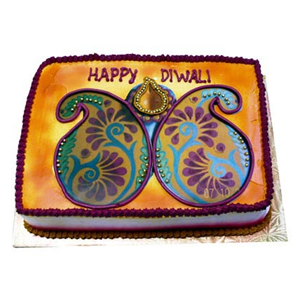 Happy Deepavali Cake 2kg