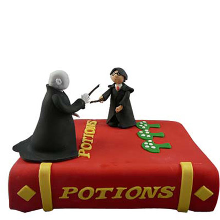 Harry Potter and Voldemort Cake 5kg Eggless