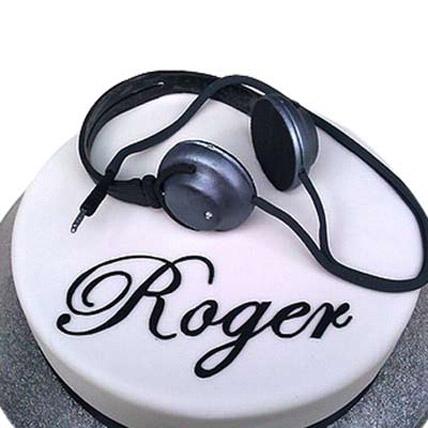 Headphone Cake 3kg