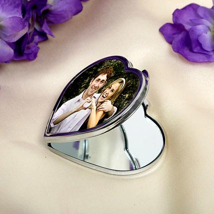 Heart Personalized Mirror