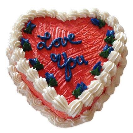 Heart Shape Valentine Cake 2kg Eggless