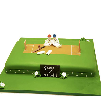 Heavenly Delights Cricket Cake 3kg Vanilla