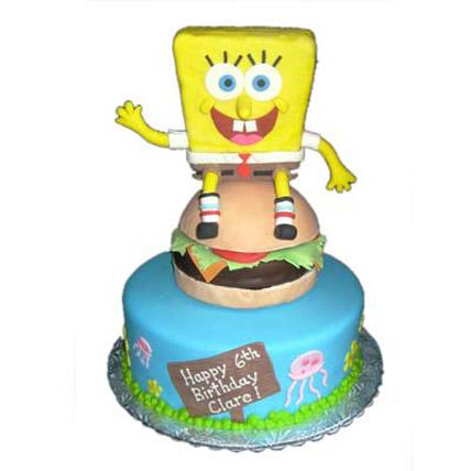Hungry Spongebob on Burger 5kg