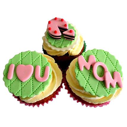 I Love You Mom Cupcakes 12