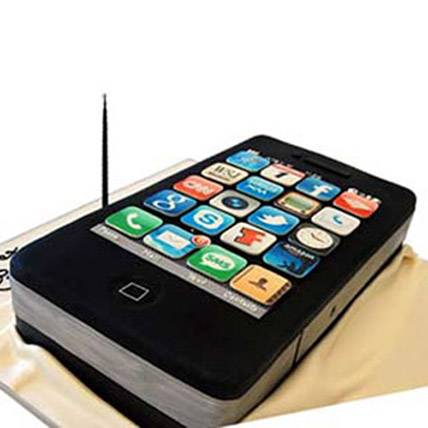 iPhone 4s Cake 2kg Eggless