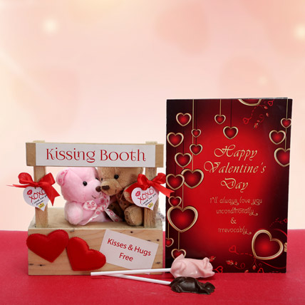 Kissing Booth With Chocolates