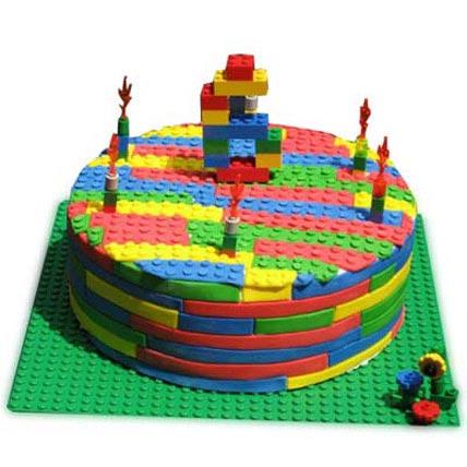 Lego Cake 5kg Eggless