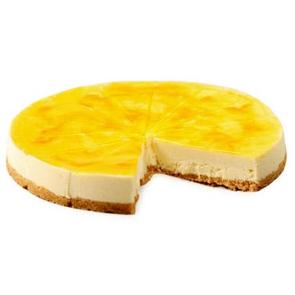 Lemon Cheese Cake 1kg Eggless