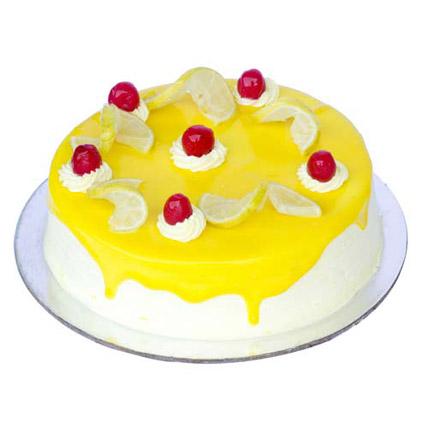 Lemon Vanilla Cake 2kg Eggless