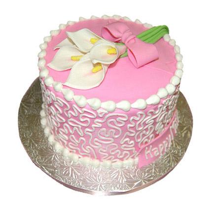 Lily Cake 1kg Eggless