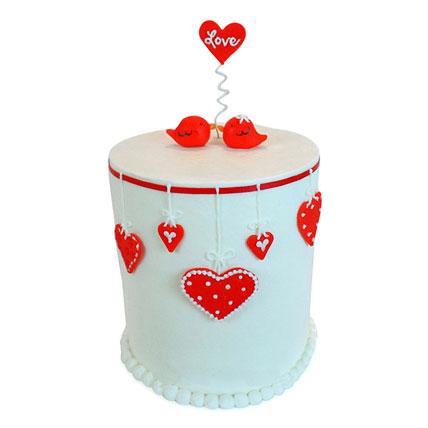 Love Birds Cake 4kg