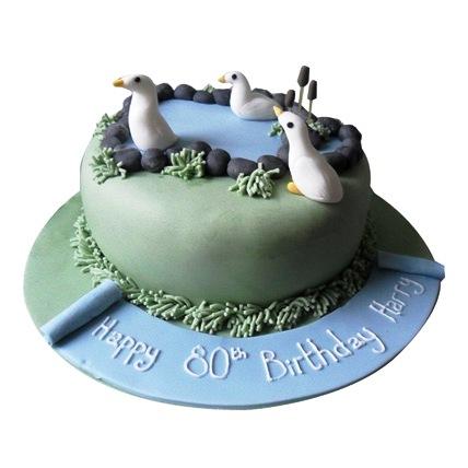 Lovely Swan Cake 4kg Eggless