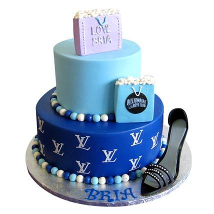 Luxury Brand Cake 4kg