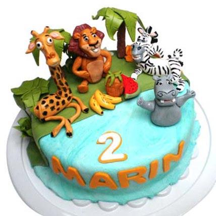 Madagaskar cake 4kg