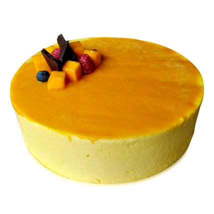 Mango Redondo Cake 1kg Eggless