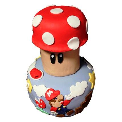 Mario Cake 3kg Eggless