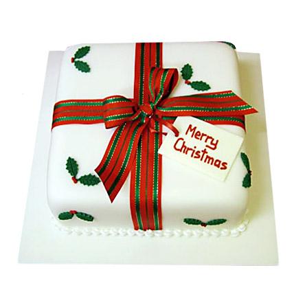 Merry Christmas Cake 1kg Eggless