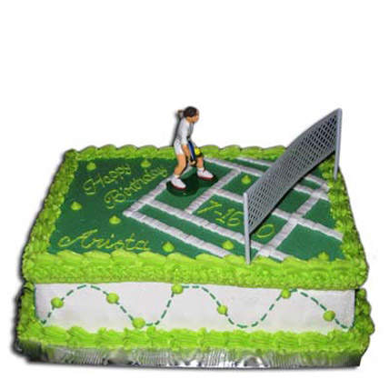 Mind Boggling Tennis Court Cake 3kg