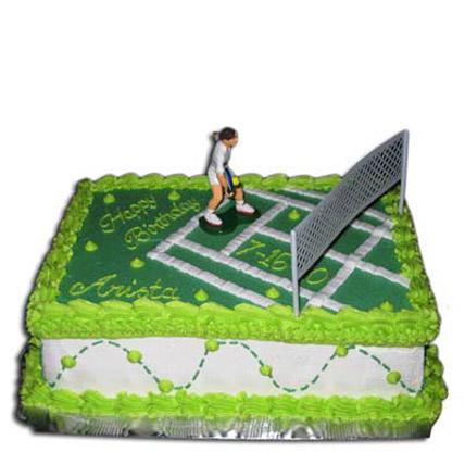 Mind Boggling Tennis Court Cake 4kg