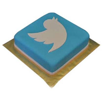 Mind boggling Twitter Cake 2kg Eggless