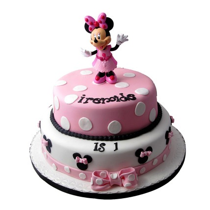 Larva Cartoon Cake Design : Minnie Mouse Birthday Cake 3kg Gift Minnie Mouse ...