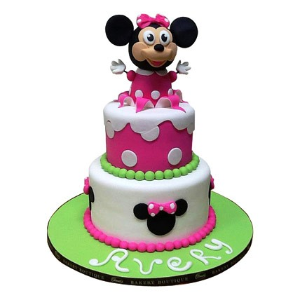 Minnie Mouse Cake 5kg Eggless