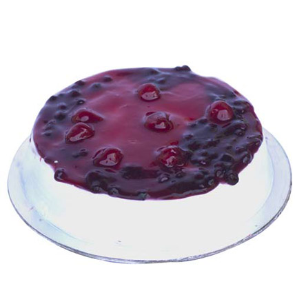 Mixed Berry n Cream Cake 2kg Eggless