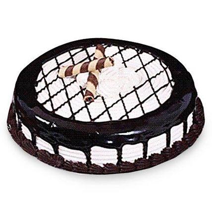 Mocha Checkered Cake 2kg Eggless