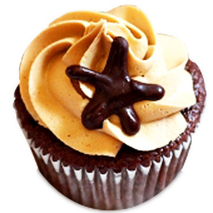 Moroccan Coffee Delight Cupcakes 6 Eggless