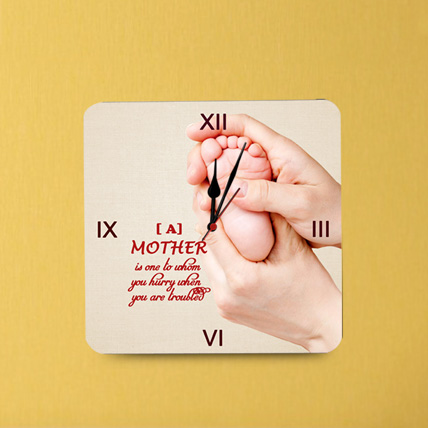 Mother Love Wall Clock