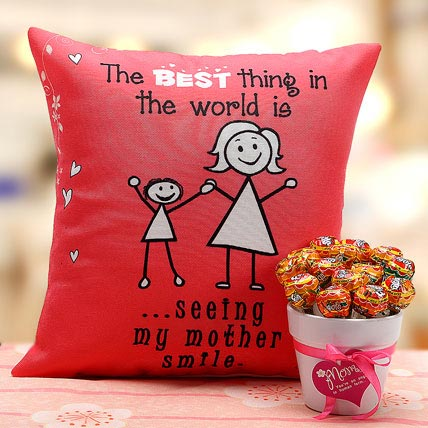 Mothers Cushion and Lollipop