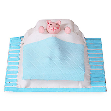 Mouse In The Bed 4kg Eggless