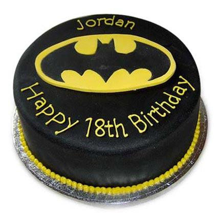 Mouthwatering Batman Cake 4kg